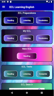 ECL Learning English