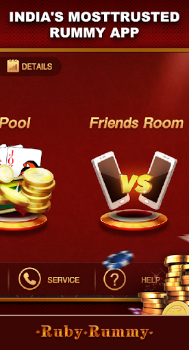 Ruby Rummy-Indian Online Free Card Game 1.0.5 Screenshots 2