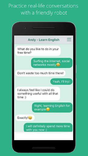 Andy - English Speaking Bot 2.8.2 Screenshots 1