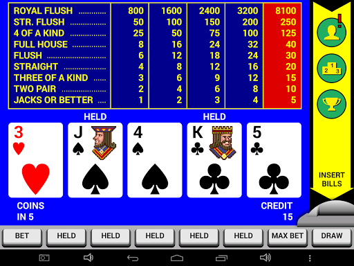 Video Poker Classic Double Up 6.20 screenshots 5