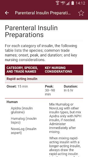 Nurse's Drug Handbook 3.0.1.523 Screenshots 3
