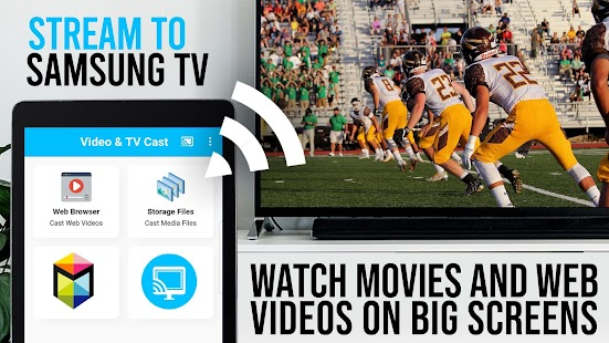 TV Cast | Samsung TV - HD Movie Streaming Screenshot