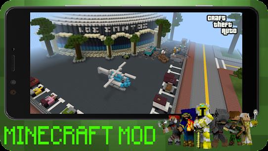 Craft Theft Auto for GTA Minecraft 2021 Apk Download 2