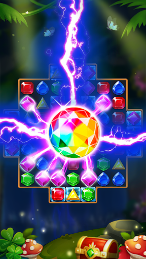 Jewels Forest : Match 3 Puzzle apkpoly screenshots 8