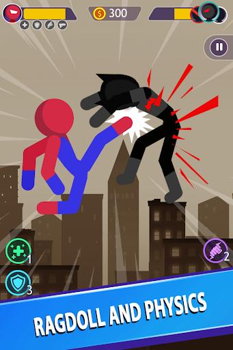 Télécharger Stickman Bataille Suprême Jeux mod apk screenshots 2