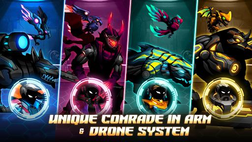 Cyber Fighters: Cyberpunk Stickman Impact Fighting screenshots 12