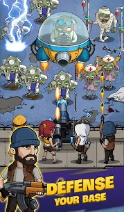 Zombie War: Idle Defense Game 49 MOD APK [INFINITE GOLD] 3