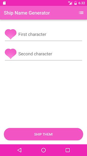 Fandom Ship Names Generator: Fluff and Fun 1.13 screenshots 2