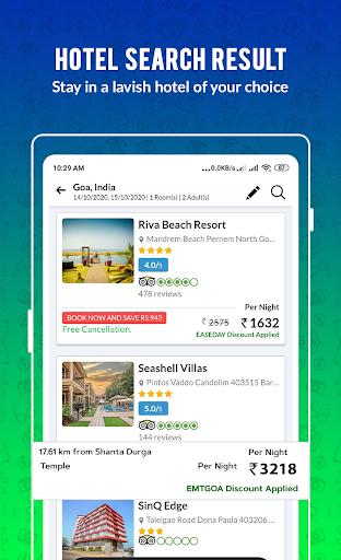 Cheap Flights, Hotel, Bus & Book IRCTC: EaseMyTrip modavailable screenshots 5