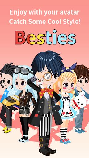 Besties - Make friend & Avatar androidhappy screenshots 2