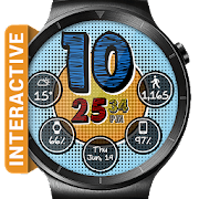Retro Pop HD Watch Face Widget & Live Wallpaper