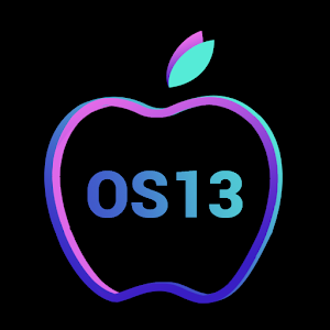 OS13 Launcher Control Center i OS13 Theme 4.1 (Prime) by Model X Apps logo