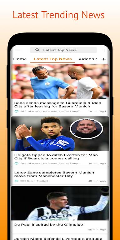 Football Pro: Soccer Scores, Football News, Videos  poster 1