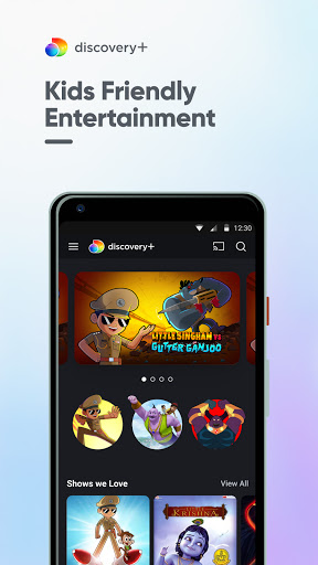 discovery+: TV Shows, Shorts, Fun Learning android2mod screenshots 3