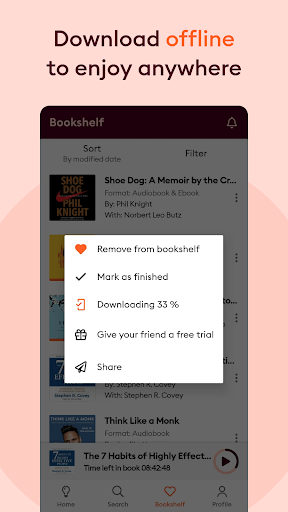 Storytel: Audiobooks and Ebooks screenshots 5