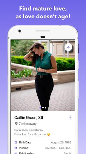 Senior Dating: Date mature singles android2mod screenshots 2