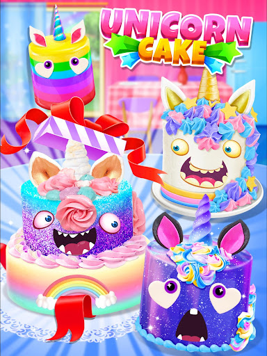 Unicorn Food - Cake Bakery 2.1 Screenshots 17
