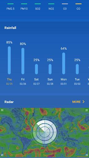 Weather Forecast - live weather radar  screenshots 3