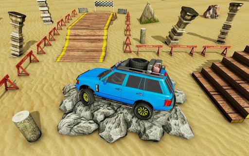 Offroad 4x4 : Car Parking & Car Driving Games 2021 apklade screenshots 2