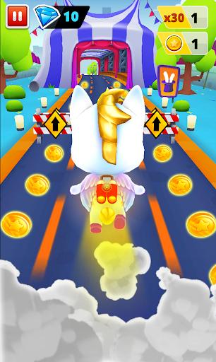 Unicorn Runner 2. Magical Running Adventure screenshots 4