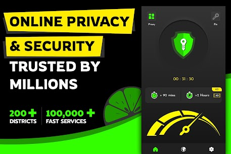 Lime VPN For Android 2