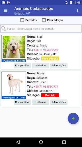 Animais Perdidos ou Adou00e7u00e3o 1.1 screenshots 2