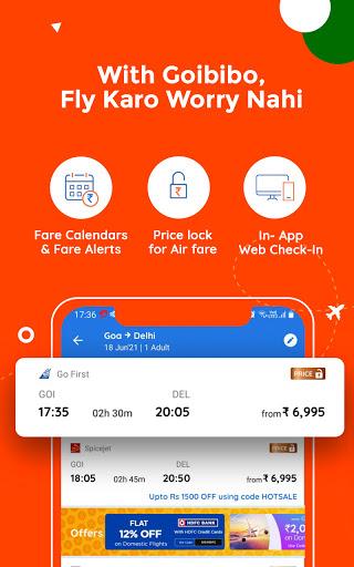 Goibibo Travel App-Hotel, Flight, IRCTC Train, Bus apktram screenshots 4