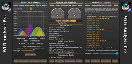 WiFi Analyzer Pro screen 0