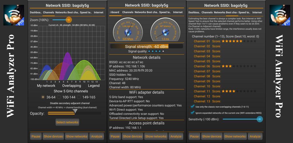 WiFi Analyzer Pro poster 0
