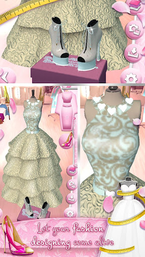 Wedding Dress Maker and Shoe Designer Games 4.2.2 Screenshots 5