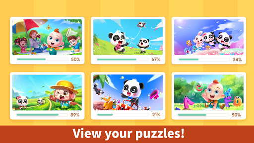 Baby Panda's Kids Puzzles  screenshots 14