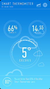 Smart Thermometer Screenshot