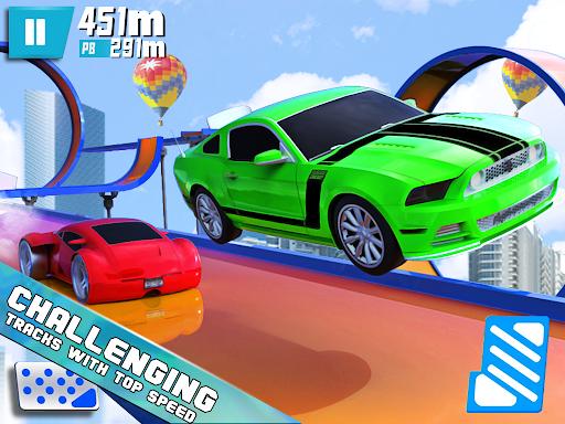 Mega Ramp Hot Car Stunt Race Off: Car Racing Games  Screenshots 7