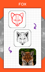 How to draw animals. Step by step drawing lessons 1.5.3 Screenshots 20
