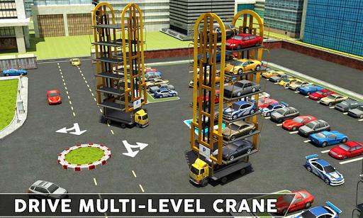 Multi-Level Smart Car Parking: Car Transport Games 1.4 screenshots 1
