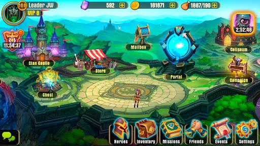 Juggernaut Wars - raid RPG games 1.4.0 screenshots 5