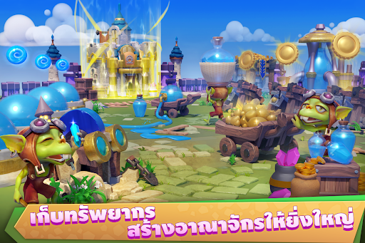 Castle Clash: u0e25u0e35u0e01u0e02u0e31u0e49u0e19u0e40u0e17u0e1e apkmr screenshots 9