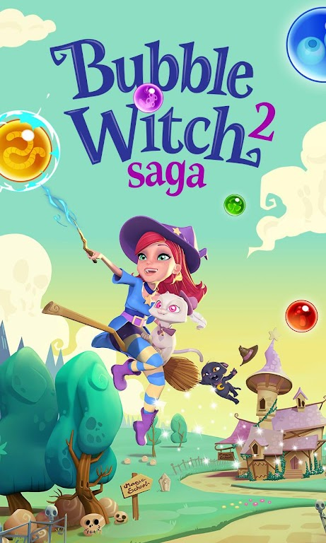 Bubble Witch 2 Saga  poster 4