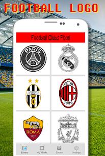 Football Logo Coloring By Number – Pixel Art Apk Son Sürüm 2021 1