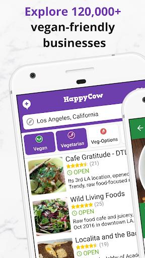 Find Vegan Restaurants & Vegetarian Food- HappyCow 62.0.56-free-v2 Screenshots 4