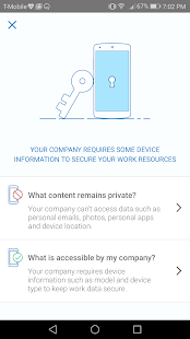 Okta Mobile Screenshot