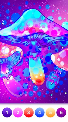 Coloring Magic: Paint by Number Free Art Games apktram screenshots 6