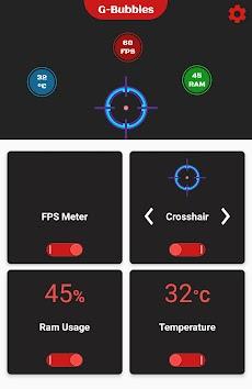 FPS Meter & Crosshair - Gamer Bubblesのおすすめ画像2