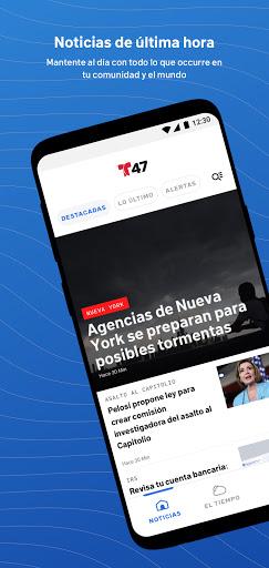 Telemundo 47: Noticias, videos, y el tiempo en NY  screenshots 1