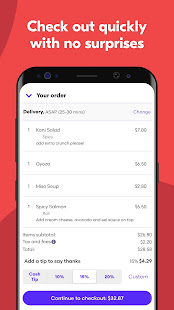 Grubhub: Local Food Delivery & Restaurant Takeout 2021.28 Screenshots 4