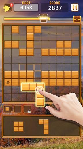 Jigsaw Wood Classic -  Block Puzzle  screenshots 1