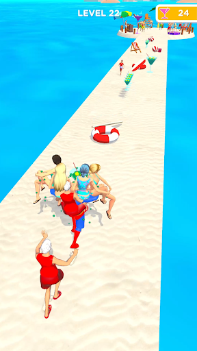 Beach Party Run Apkfinish screenshots 7