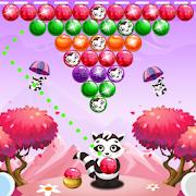 Raccoon Bubble Shooter Game 2021: Pop Bubble Games