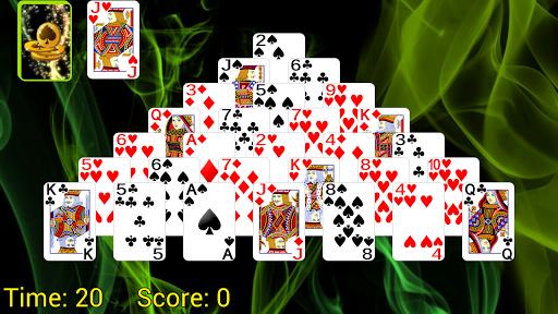 Pyramid Golf Solitaire 5.0.1621 screenshots 1