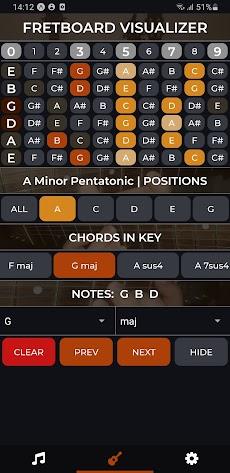 Fretboard Visualizer - Scales & Chordsのおすすめ画像1